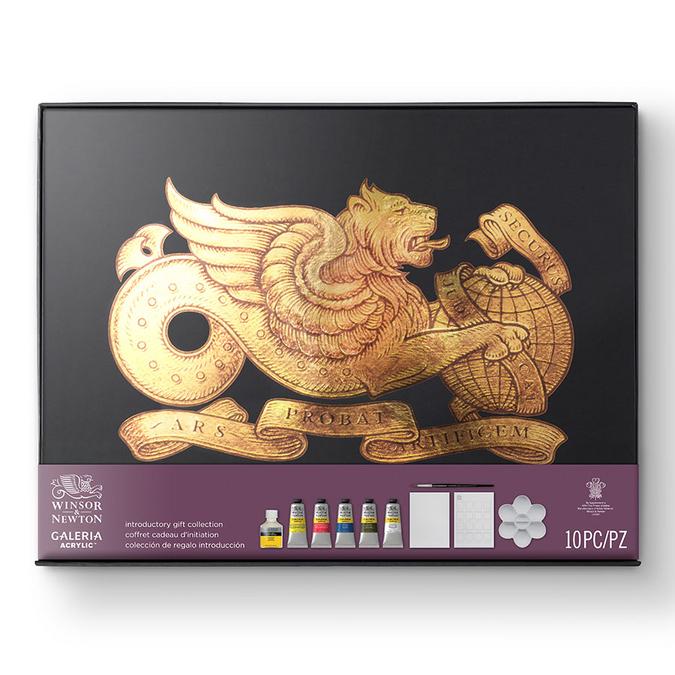 Coffret Cadeau Initiation Acrylique Galéria